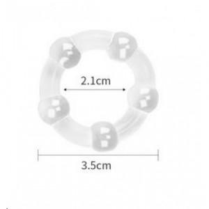 Эрекционное кольцо - X-Basic Beaded Cockring Set LV343002