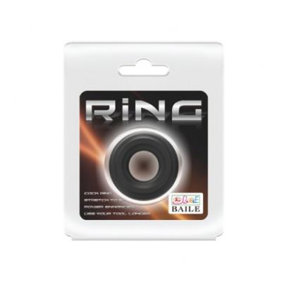347, Эрекционное кольцо черного цвета BI-210174, , 300 руб., BI-210174, , Кольца и насадки
