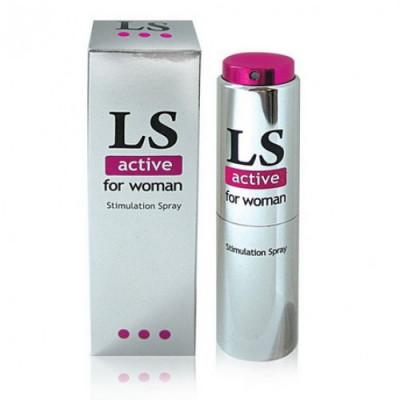 "140, ""LoveSpray Active For Woman» спрей для женщин , , 650 руб., 74356, ,         Для неё"