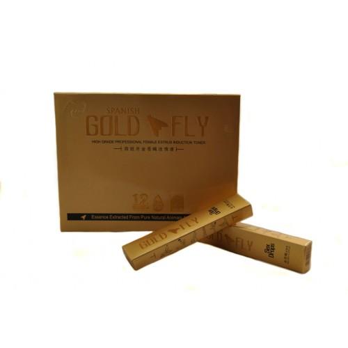 Капли для девушек - Spanish Gold Fly (Шпанская мушка)